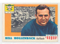 1955 Topps AA Football 96 Bill Hollenback Single Print Penn Quakers Very Good to Excellent