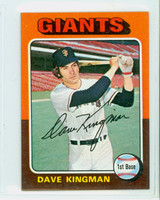 1975 Topps Mini Baseball 156 Dave Kingman San Francisco Giants Near-Mint Plus