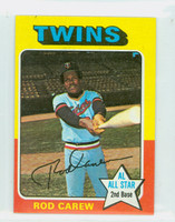 1975 Topps Mini Baseball 600 Rod Carew Minnesota Twins Excellent to Mint