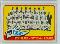 1965 OPC Baseball 91 Cubs Team Very Good