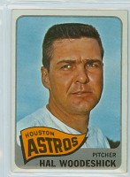 1965 OPC Baseball 179 Hal Woodeshick Houston Astros Very Good to Excellent