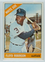 1966 OPC Baseball 8 Floyd Robinson Chicago White Sox Very Good to Excellent