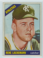 1966 OPC Baseball 157 Rene Lachemann Kansas City Athletics Excellent
