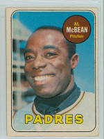 1969 OPC Baseball 14 Al McBean San Diego Padres Excellent