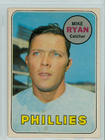 1969 OPC Baseball 28 Mike Ryan Philadelphia Phillies Excellent