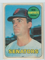 1969 OPC Baseball 84 Bob Humphreys Washington Senators Excellent