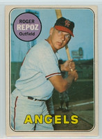1969 OPC Baseball 103 Roger Repoz California Angels Excellent