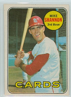 1969 OPC Baseball 110 Mike Shannon St. Louis Cardinals Very Good to Excellent
