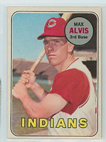 1969 OPC Baseball 145 Max Alvis Cleveland Indians Excellent