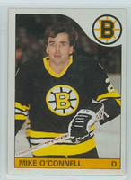 1985-86 Topps Hockey Mike O' Connell Boston Bruins Near-Mint to Mint