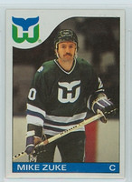 1985-86 Topps Hockey Mike Zuke Hartford Whalers Near-Mint to Mint