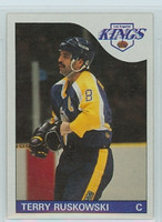 1985-86 Topps Hockey Terry Ruskowski Los Angeles Kings Near-Mint to Mint