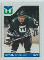 1985-86 Topps Hockey Kevin Dineen Hartford Whalers Near-Mint to Mint