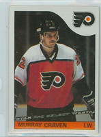 1985-86 Topps Hockey Murray Craven Philadelphia Flyers Near-Mint to Mint