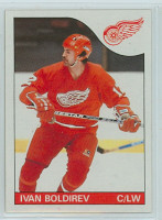 1985-86 Topps Hockey Ivan Boldirev Detroit Red Wings Near-Mint to Mint