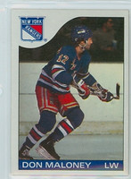 1985-86 Topps Hockey Don Maloney New York Rangers Near-Mint to Mint