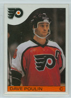 1985-86 Topps Hockey Dave Poulin Philadelphia Flyers Near-Mint to Mint