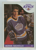 1985-86 Topps Hockey Bernie Nicholls Los Angeles Kings Near-Mint to Mint