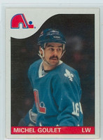 1985-86 Topps Hockey Michel Goulet Quebec Nordiques Near-Mint to Mint