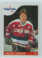 1985-86 Topps Hockey Doug Jarvis Washington Capitals Near-Mint to Mint