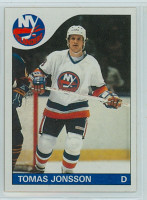 1985-86 Topps Hockey Tomas Jonsson New York Islanders Near-Mint to Mint