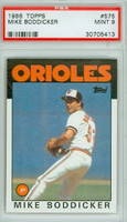 1986 Topps Baseball 575 Mike Boddicker Baltimore Orioles PSA 9 Mint