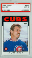 1986 Topps Baseball 669 Ron Cey Chicago Cubs PSA 9 Mint
