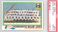1981 Topps Baseball 674 Blue Jays Team PSA 9 Mint