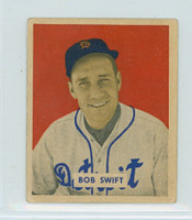 1949 Bowman Baseball 148 Bob Swift High Number Very Good