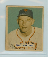 1949 Bowman 154 Clint Hartung High Number Fair to Good