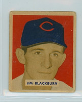 1949 Bowman Baseball 160 Jim Blackburn High Number Good to Very Good