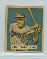 1949 Bowman Baseball 186 John Kerr High Number Good to Very Good