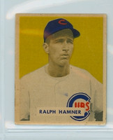 1949 Bowman Baseball 212 Ralph Hamner High Number Good to Very Good