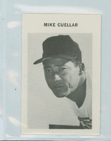 1969 Milton Bradley Baseball 66 Mike Cuellar Baltimore Orioles Near-Mint Plus