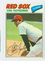 1977 Topps Baseball 480 Carl Yastrzemski Boston Red Sox Near-Mint