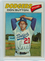 1977 Topps Baseball 620 Don Sutton Los Angeles Dodgers Excellent to Mint