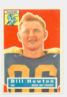 1956 Topps Football 19 Bill Howton Green Bay Packers Very Good to Excellent
