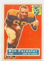1956 Topps Football 79 Bill Forester ROOKIE Green Bay Packers Very Good to Excellent