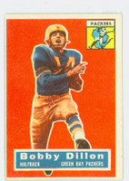1956 Topps Football 103 Bobby Dillon Green Bay Packers Very Good to Excellent
