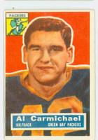 1956 Topps Football 115 Al Carmichael Green Bay Packers Very Good to Excellent