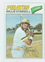 1977 Topps Baseball 460 Willie Stargell Pittsburgh Pirates Very Good