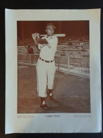 Baseball Magazine Player Posters 1948 Larry Doby Cleveland Indians Very Good