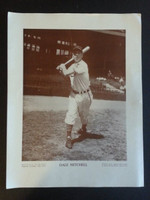 Baseball Magazine Player Posters 1949 Dale Mitchell Cleveland Indians Very Good