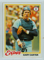 1978 Topps Baseball 120 Gary Carter Montreal Expos Near-Mint to Mint
