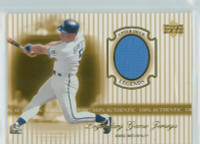 2000 Upper Deck Legendary Jerseys Insert 1:48 George Brett Kansas City Royals Near-Mint to Mint