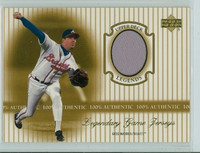 2000 Upper Deck Legendary Jerseys Insert 1:48 Greg Maddux Atlanta Braves Near-Mint to Mint