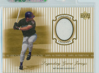 2000 Upper Deck Legendary Jerseys Insert 1:48 Matt Williams Arizona Dbacks Near-Mint to Mint