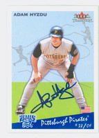 Adam Hyzdu AUTOGRAPH 2002 Fleer Tradition 1934 Goudey Design Pirates 