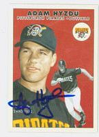 Adam Hyzdu AUTOGRAPH 2000 Fleer Tradition Pirates 