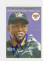 Kevin Young AUTOGRAPH 2000 Fleer Tradition Pirates 